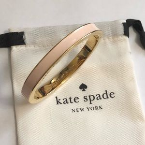 Make me blush Kate spade bangle